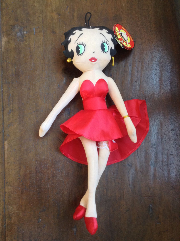 Betty Boop Kelly Toy Cloth Doll