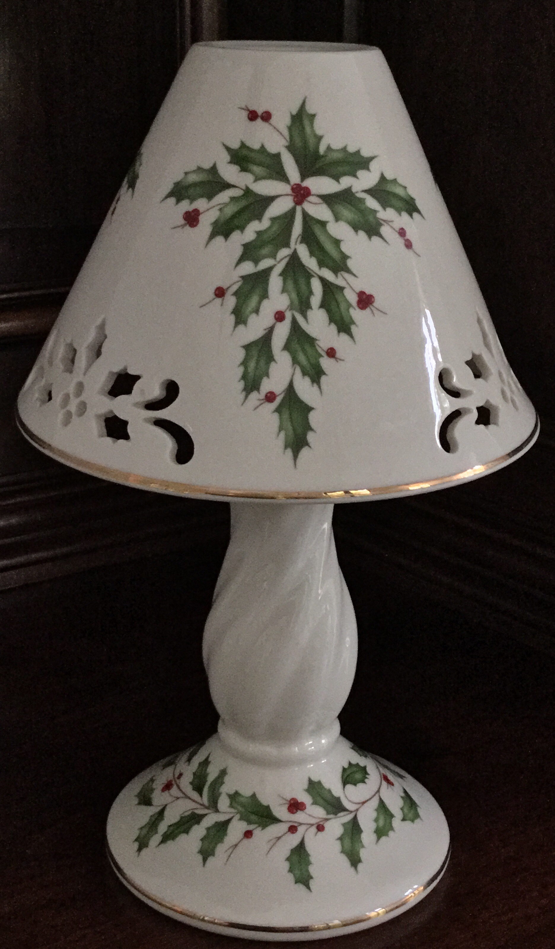 Lenox Holiday Candle Lamp