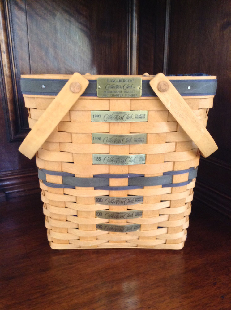 Longaberger Membership Basket