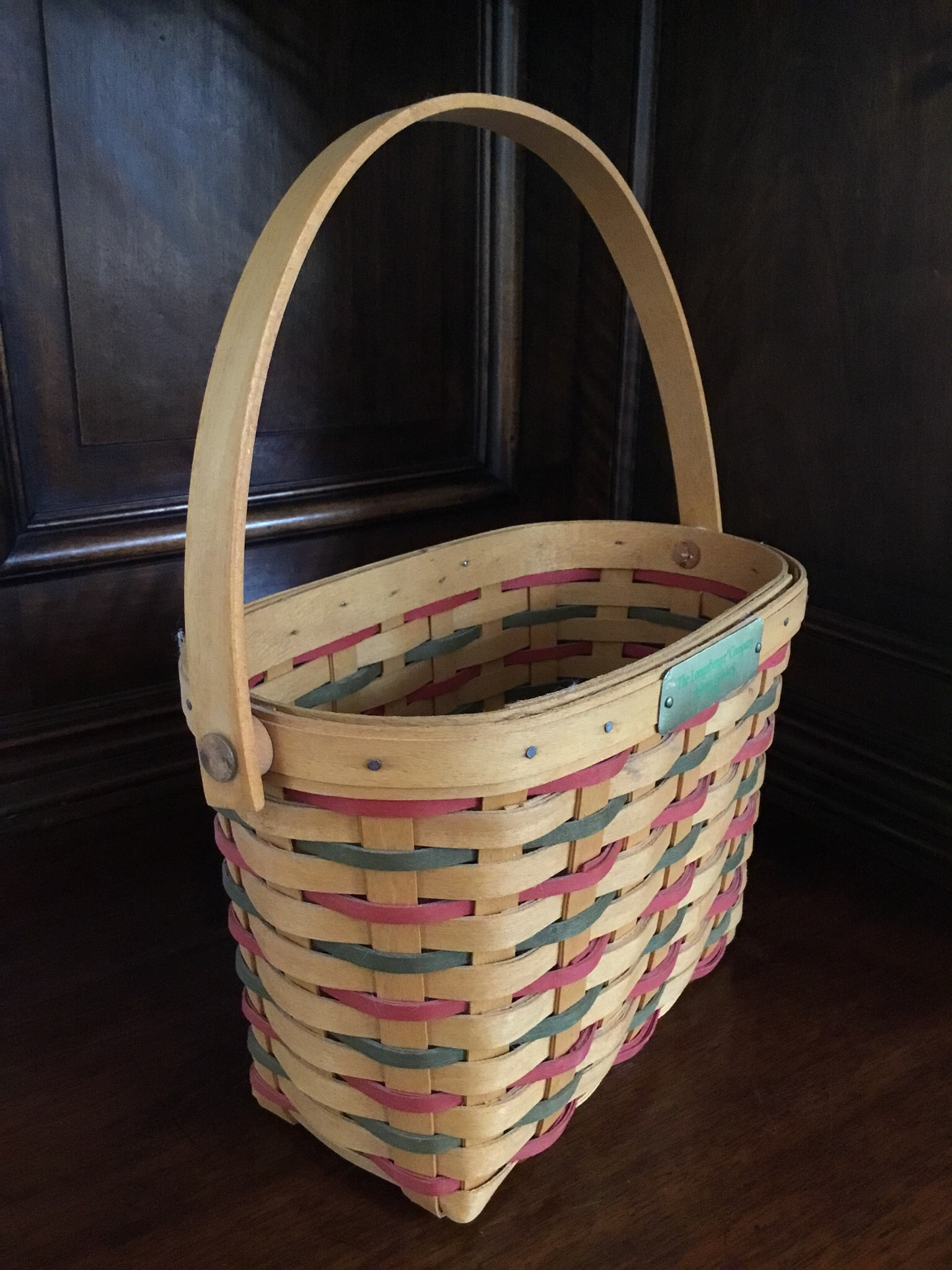 2001 Longaberger Happy Holidays Basket