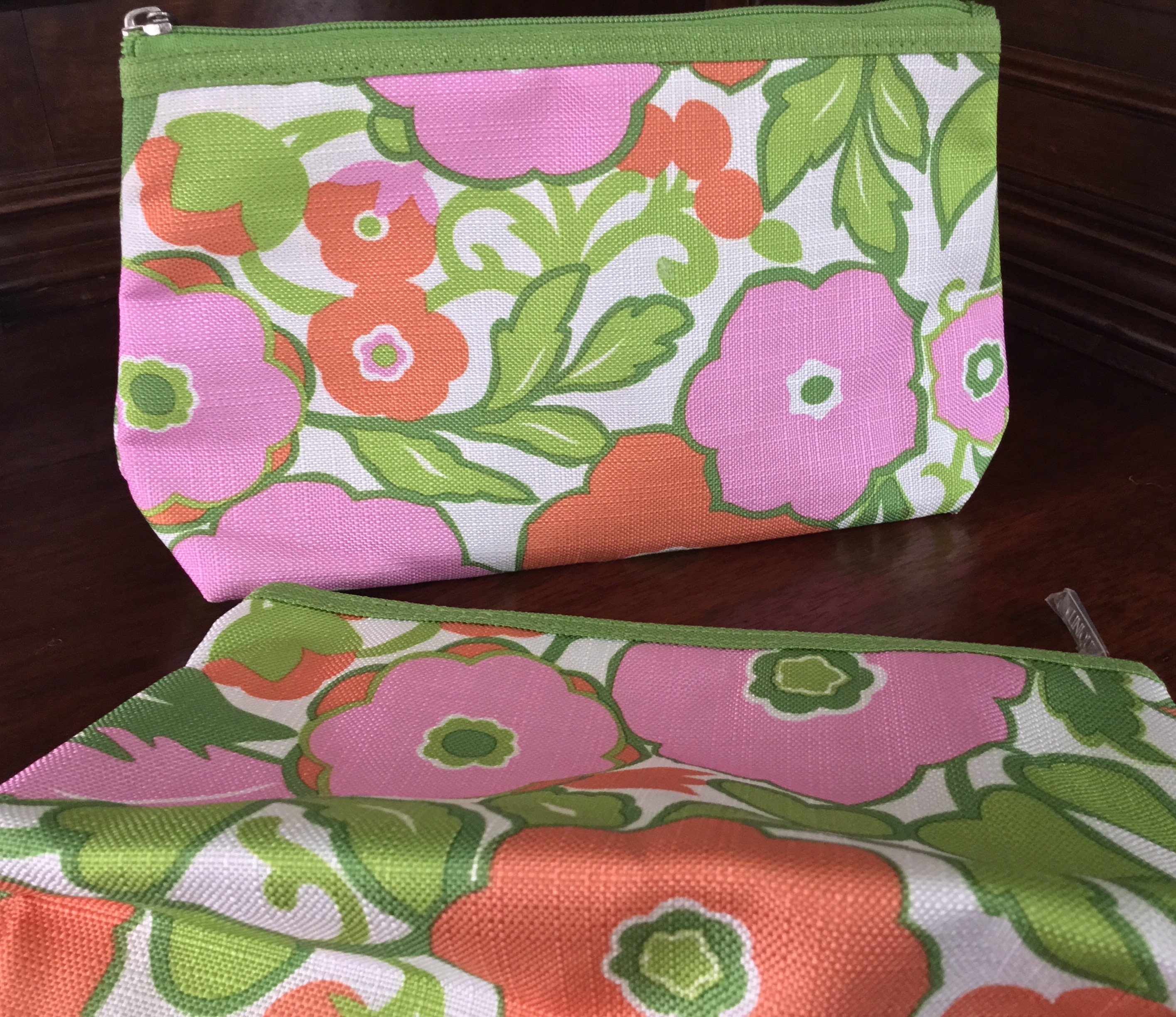Cosmetic Bags, Set of 2