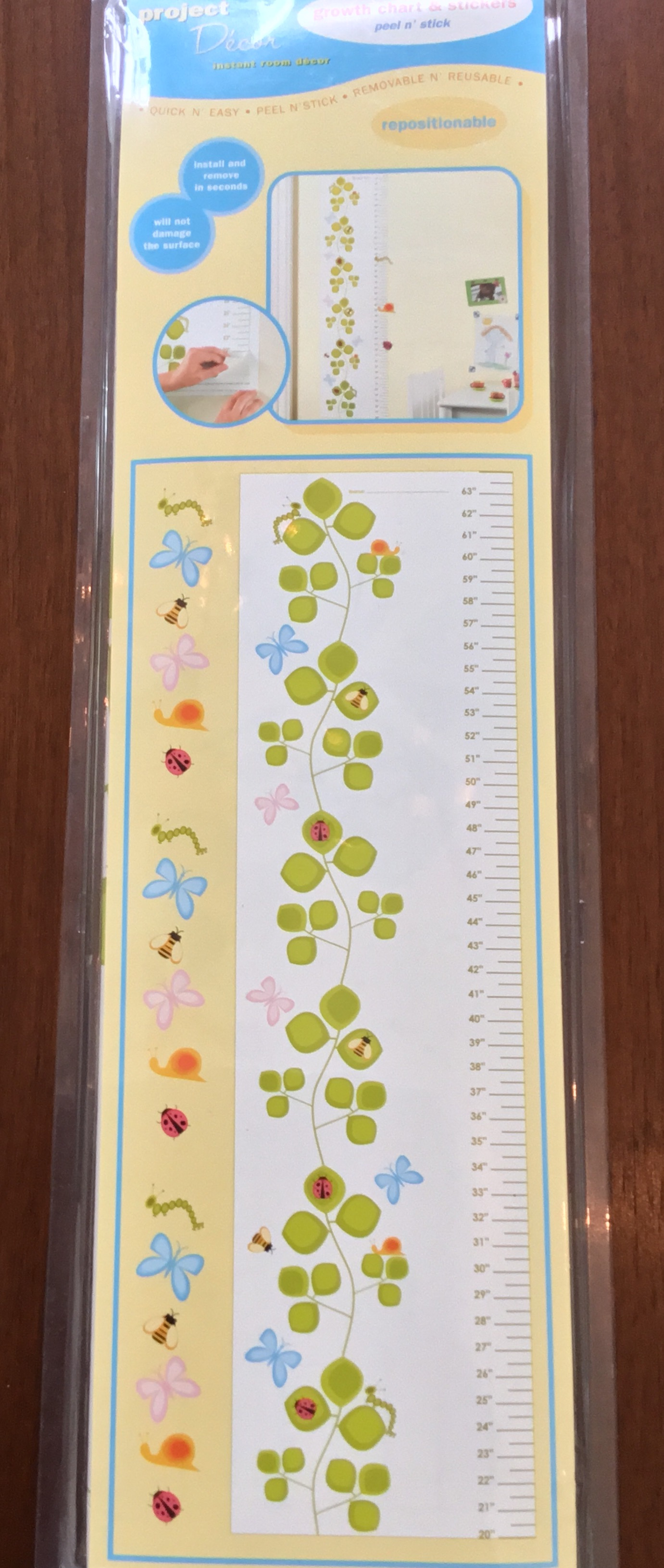 Project Decor Growth Chart NIB