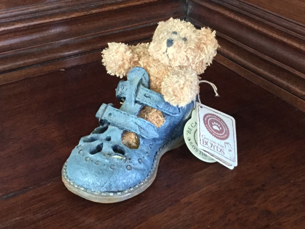 Boyds Bean-Foot Friends, Nellie...Baby Buckles