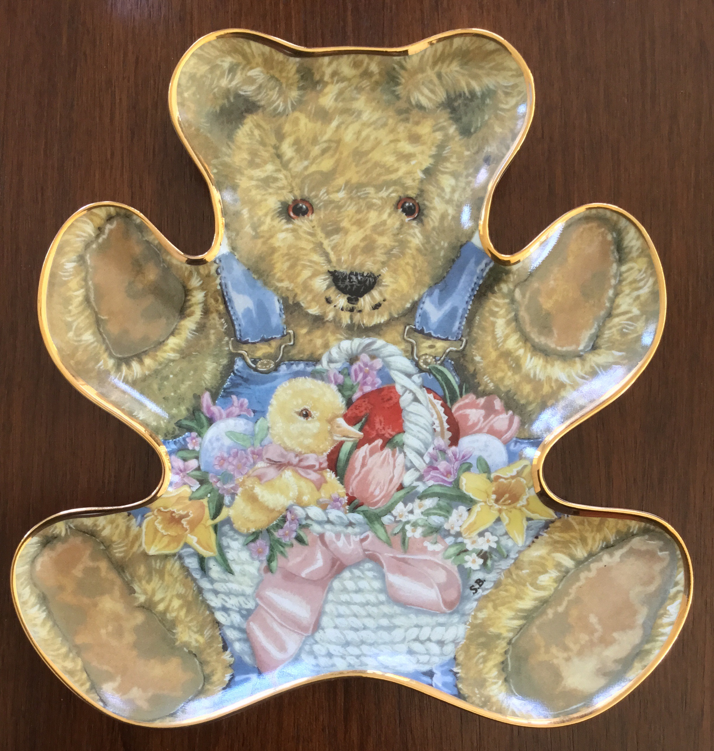 Franklin Mint, Teddy's Easter Basket