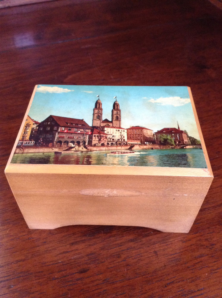 European City Music Box