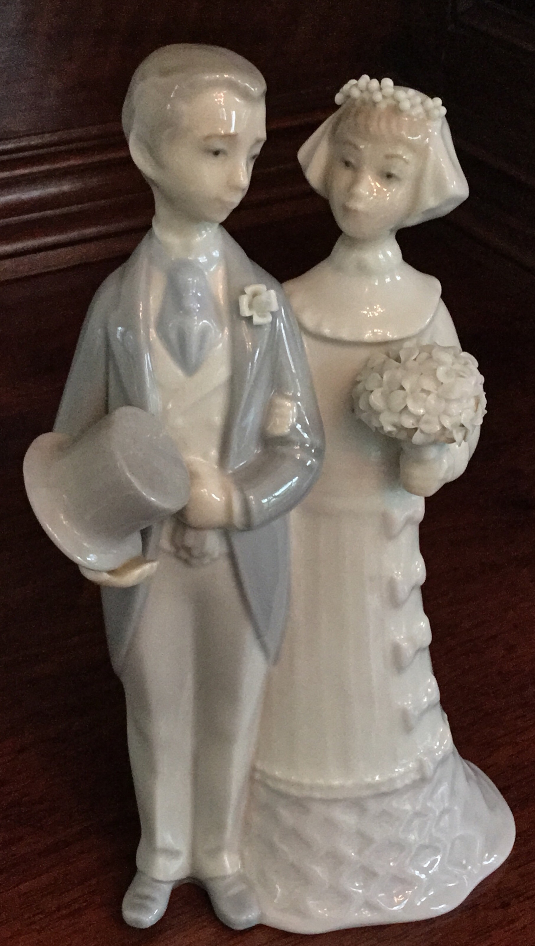 Lladro, Wedding Day Bride and Groom