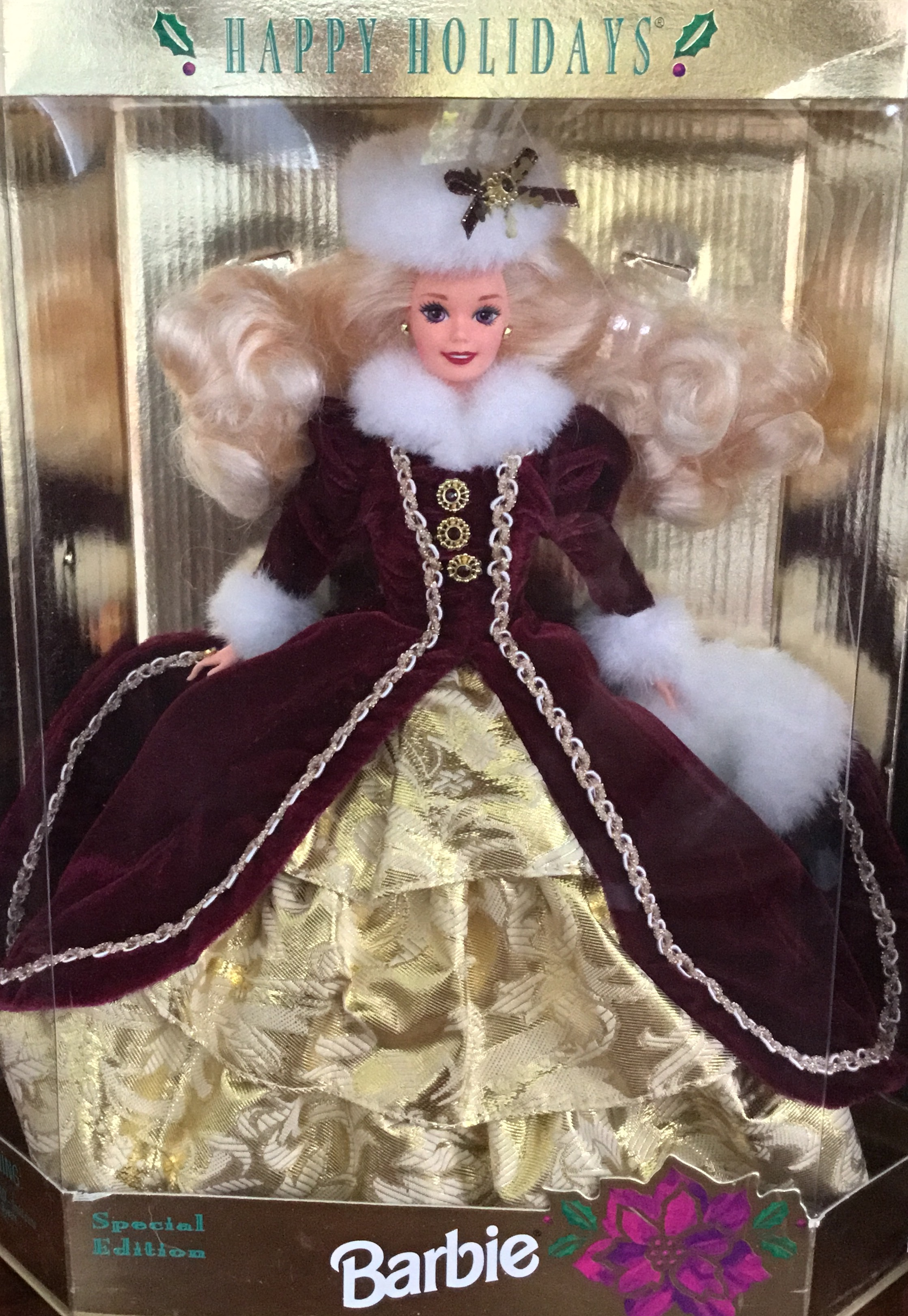 1996 Special Edition Happy Holidays Barbie