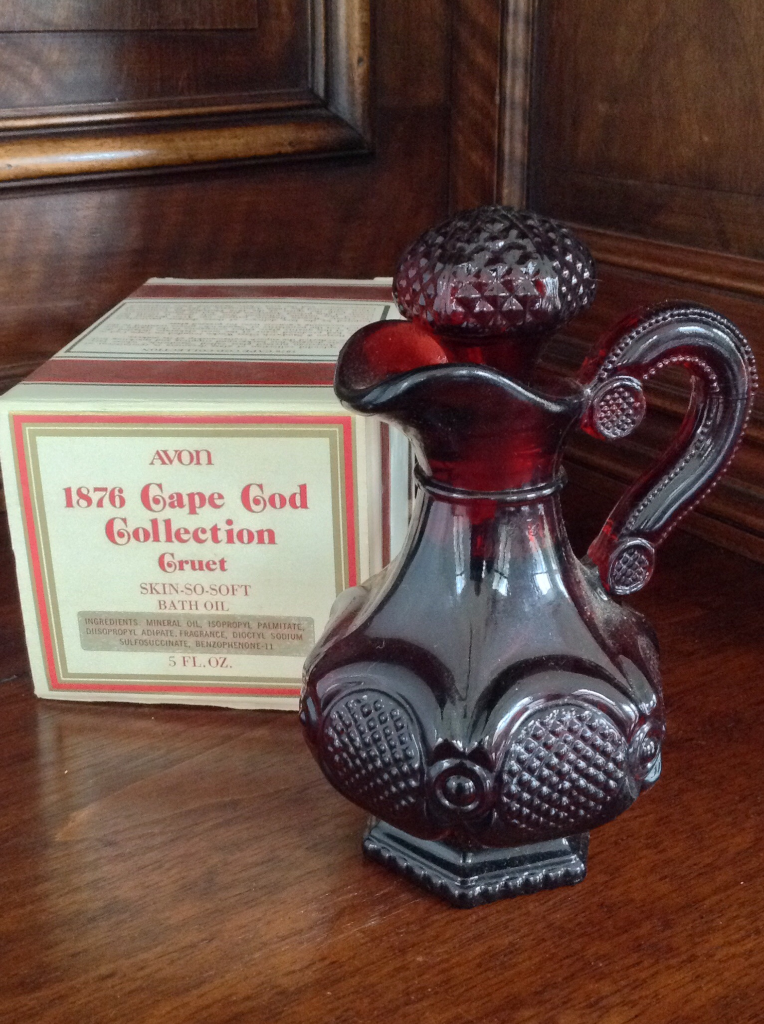 Avon 1876 Cape Cod Collection Cruet