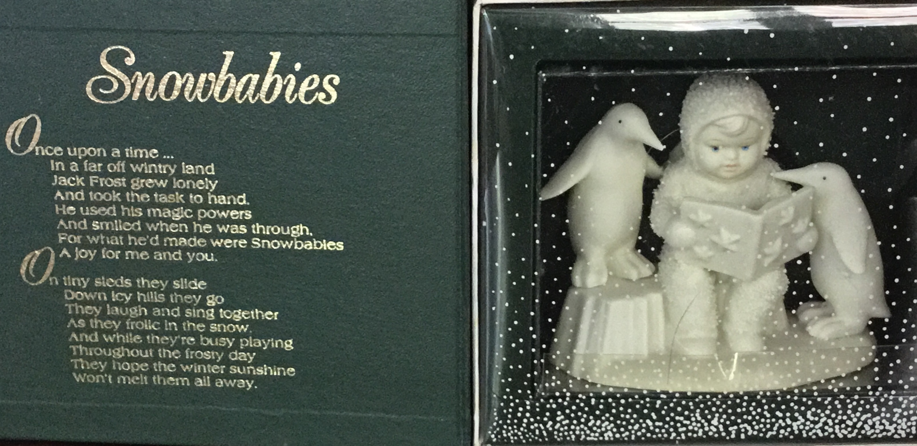 Winter Tales of the Snowbabies, Read Me A Story