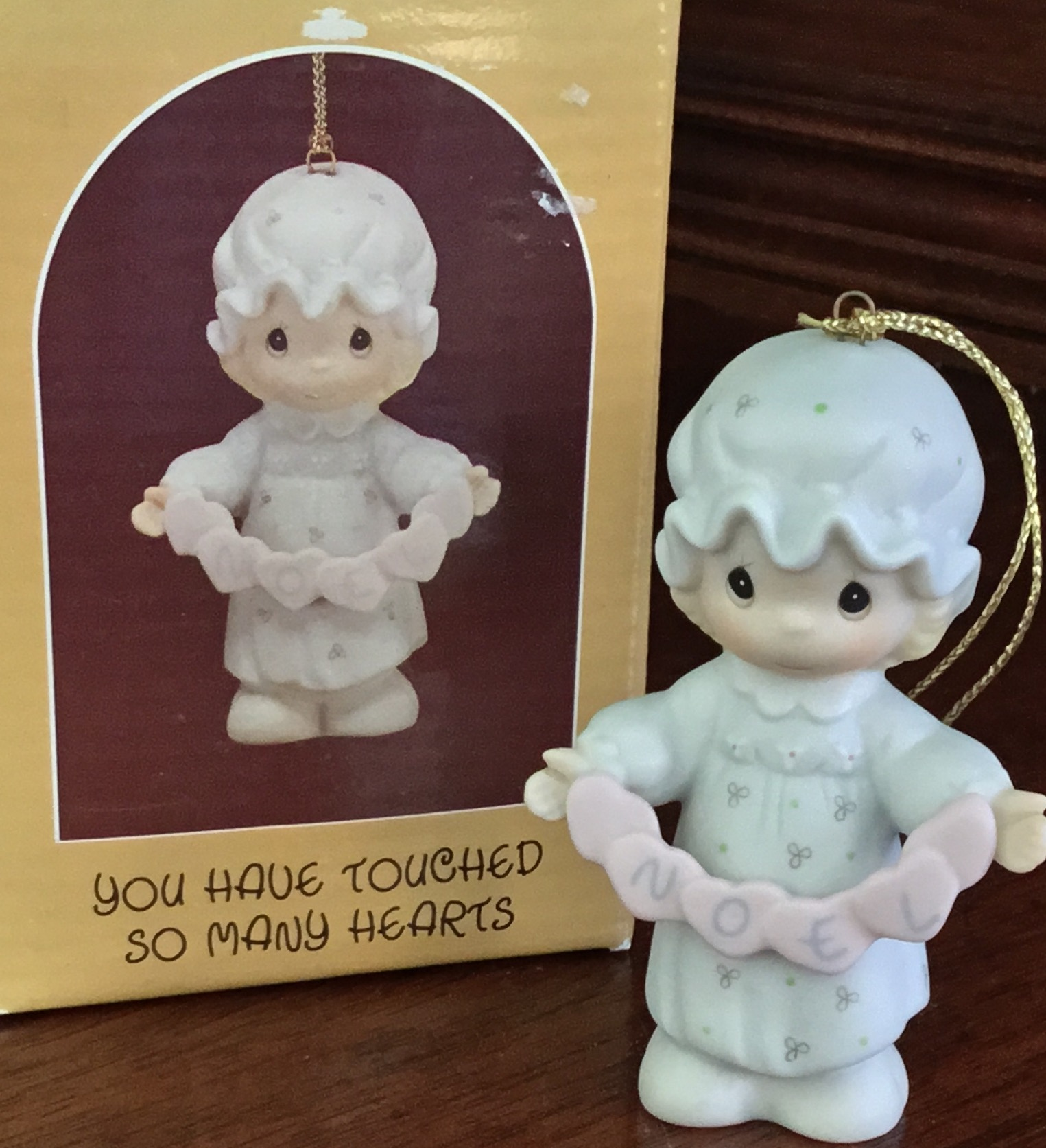 Precious Moments, You Have Touched So Many Hearts Ornament