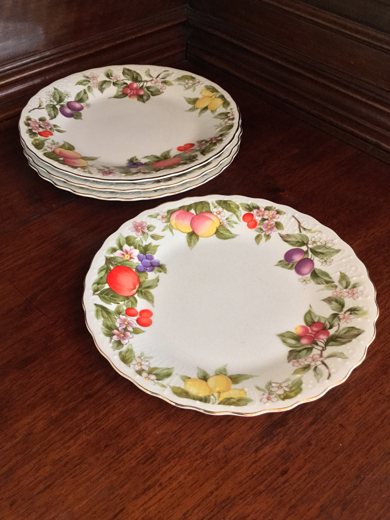 Andrea by Sadek Plates, Set of 4