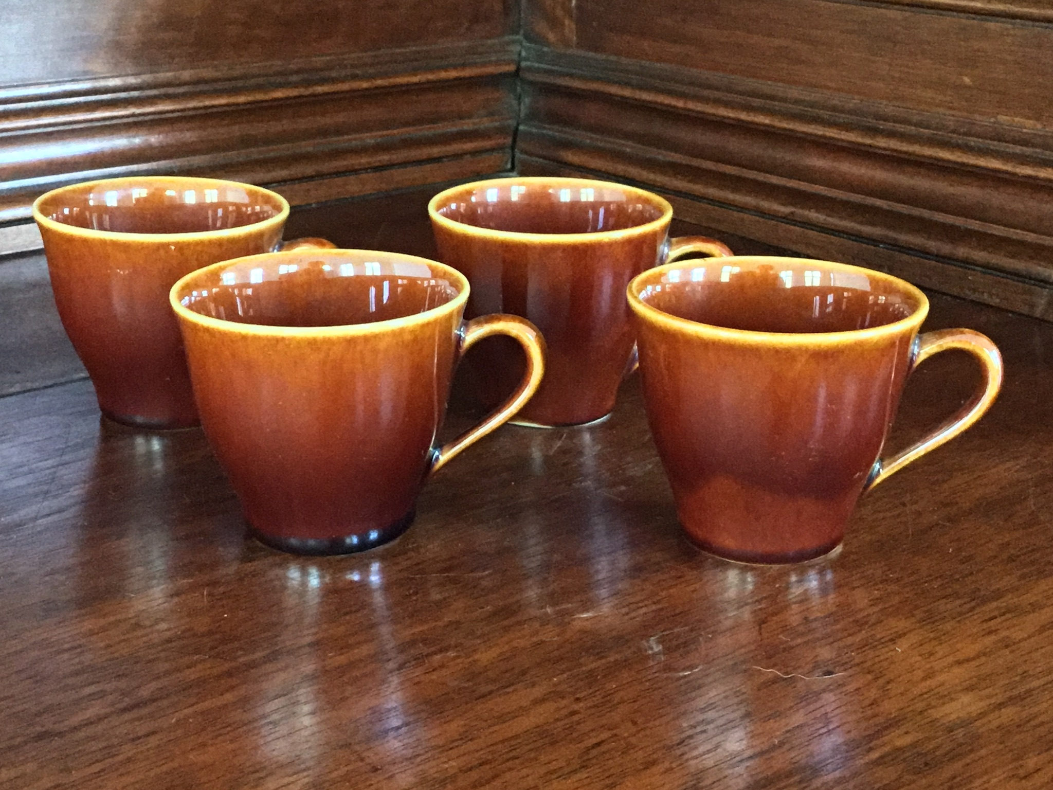 Lenox Brown Demitasse, Set of 4
