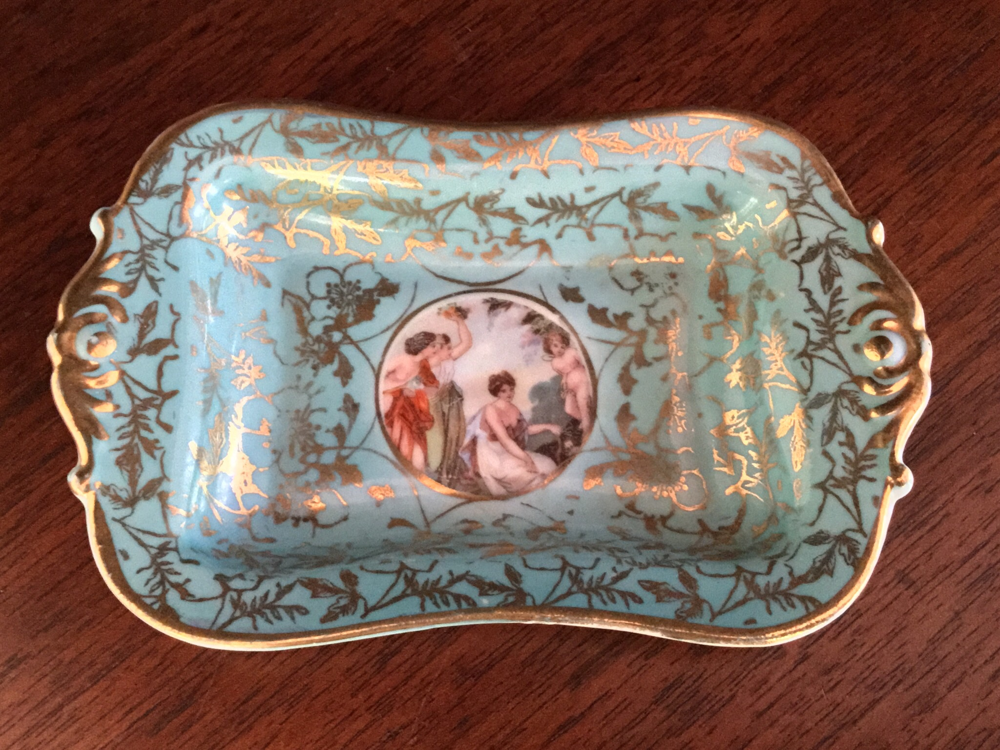 Hand Painted Ring Tray