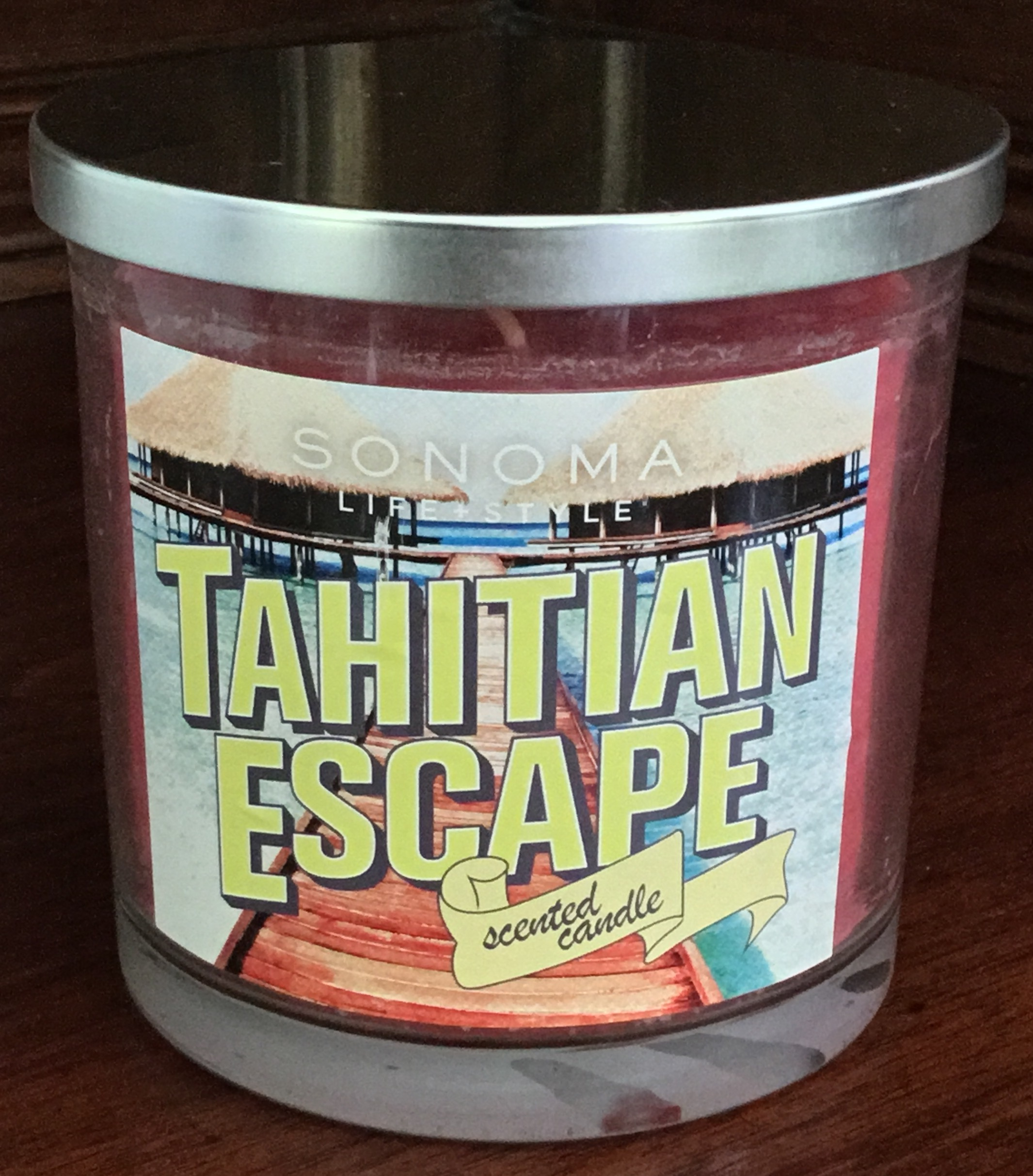 Sonoma Lifestyle, Tahitian Escape Candle