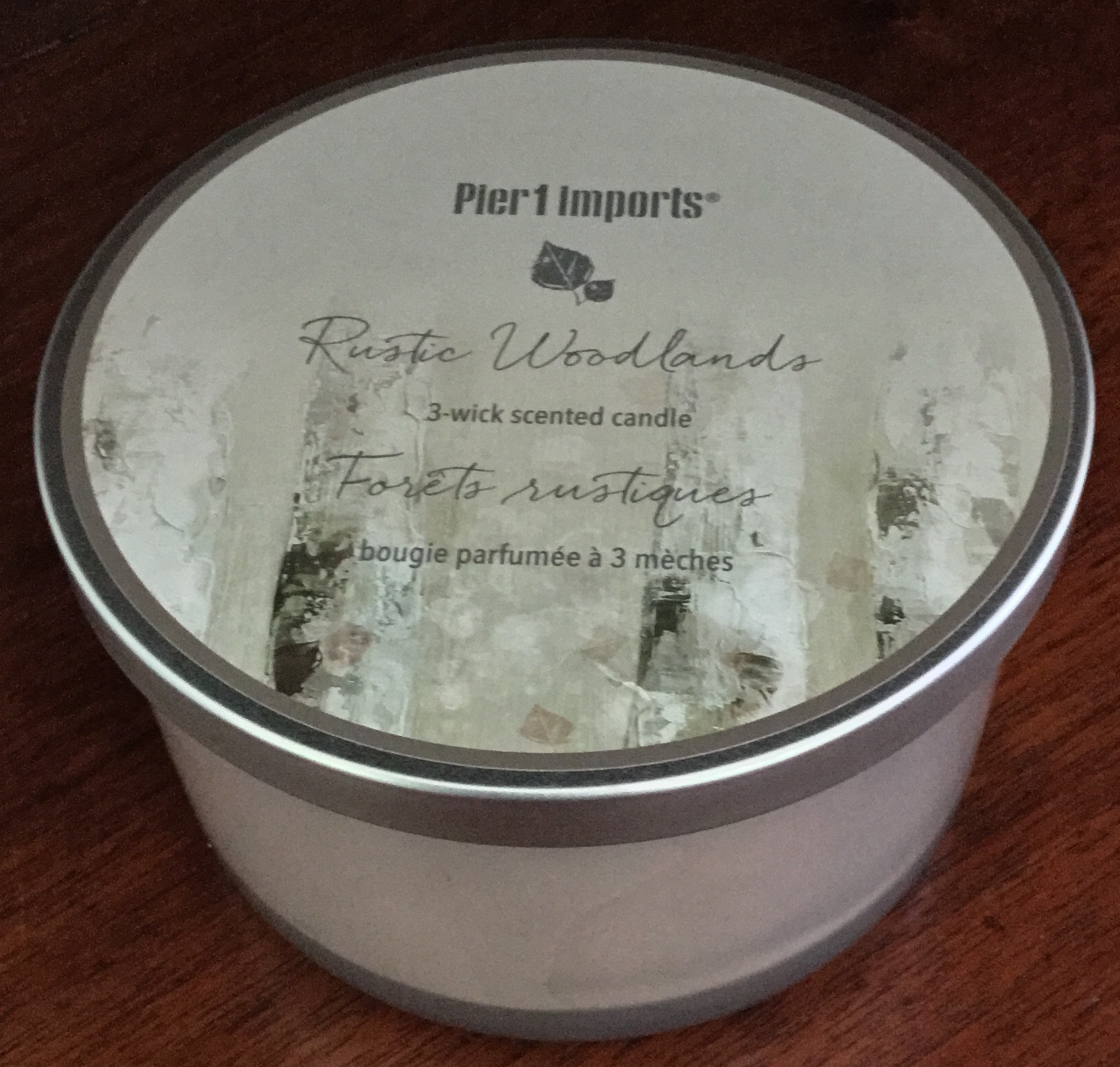 Pier One Rustic Woodlands Candle