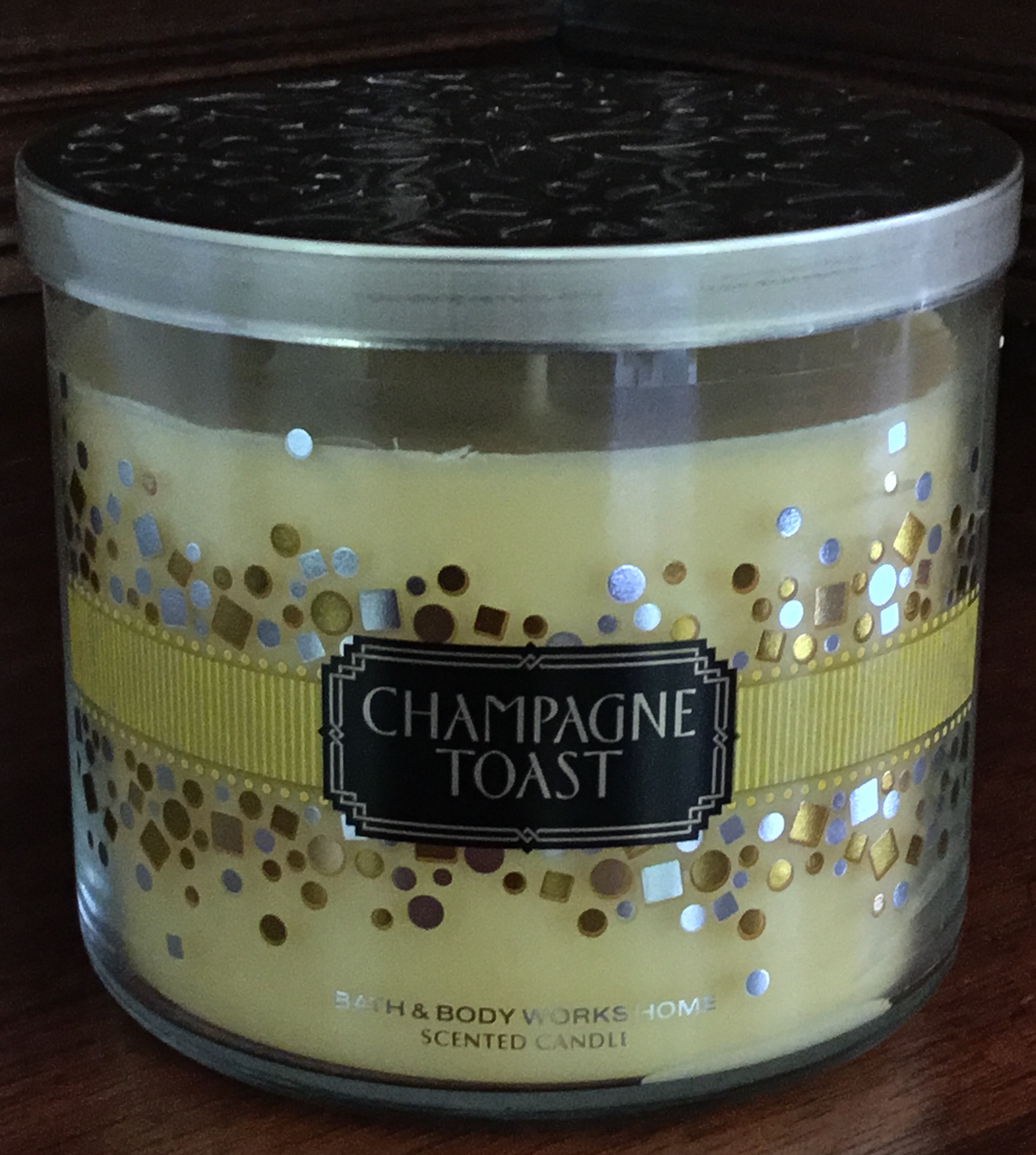 Bath & Body Works Champagne Toast Candle