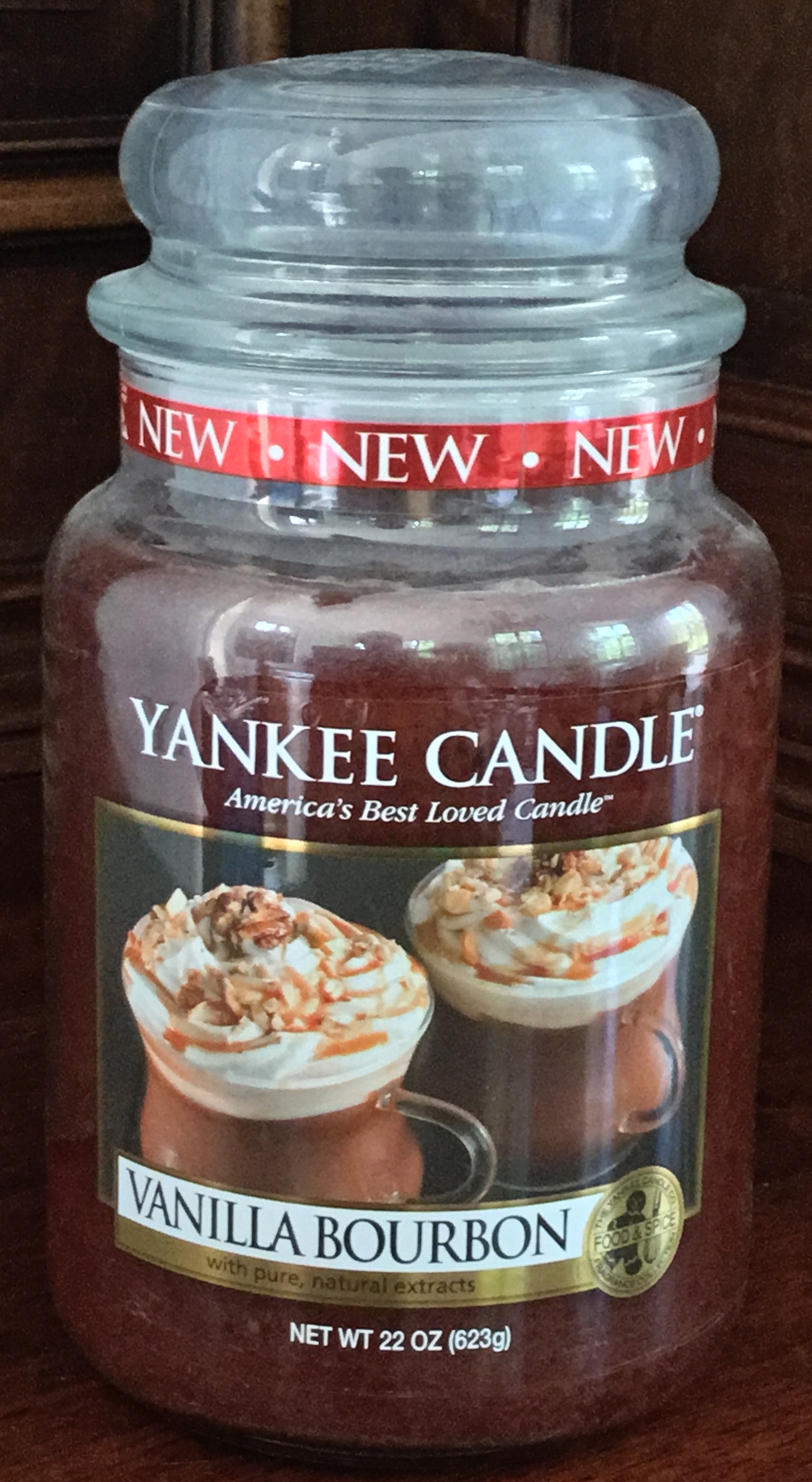Yankee Candle Vanilla Bourbon Candle