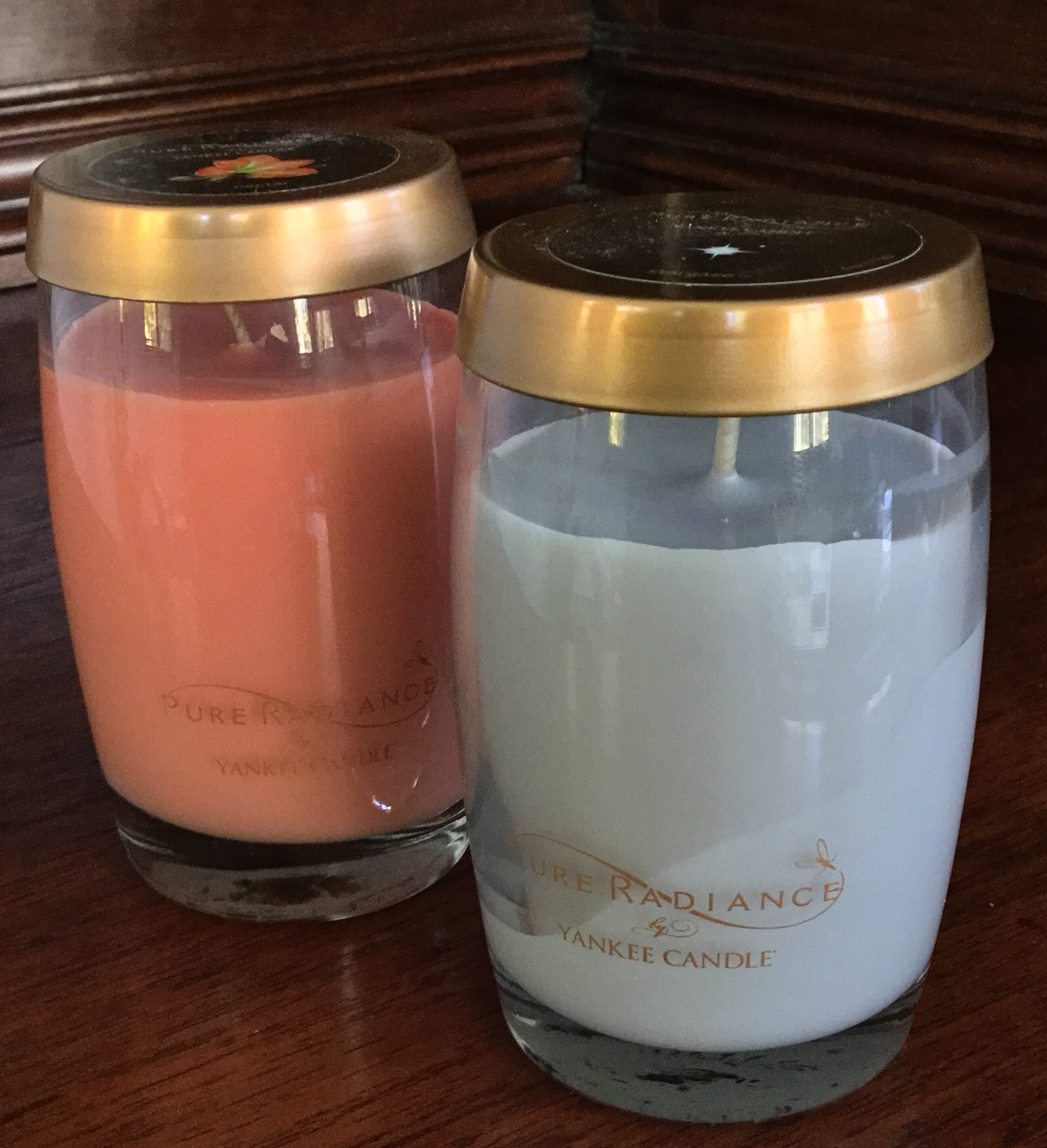 Yankee Candle Pure Radiance Candles, Set of 2