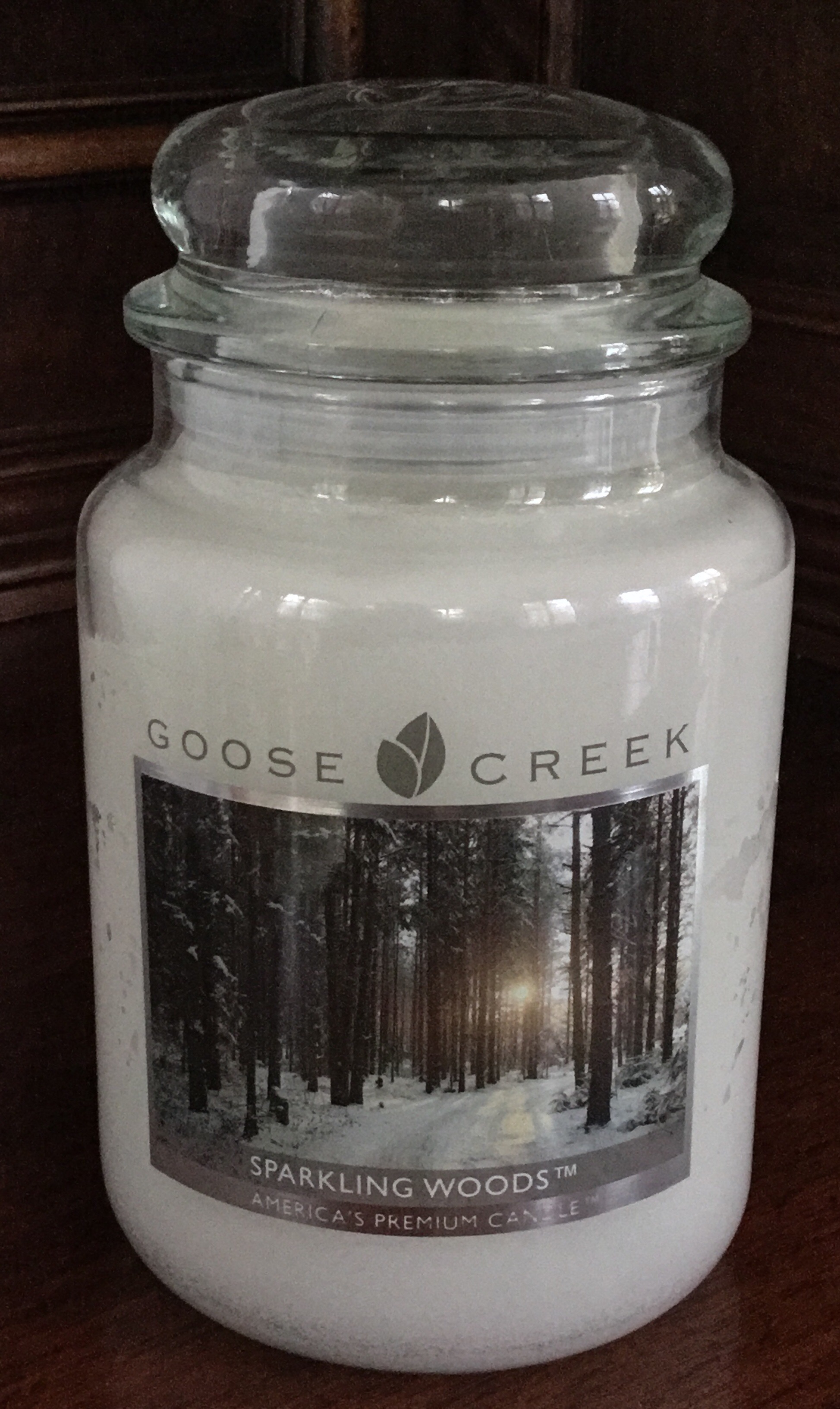 Goose Creek, Sparkling Woods Candle
