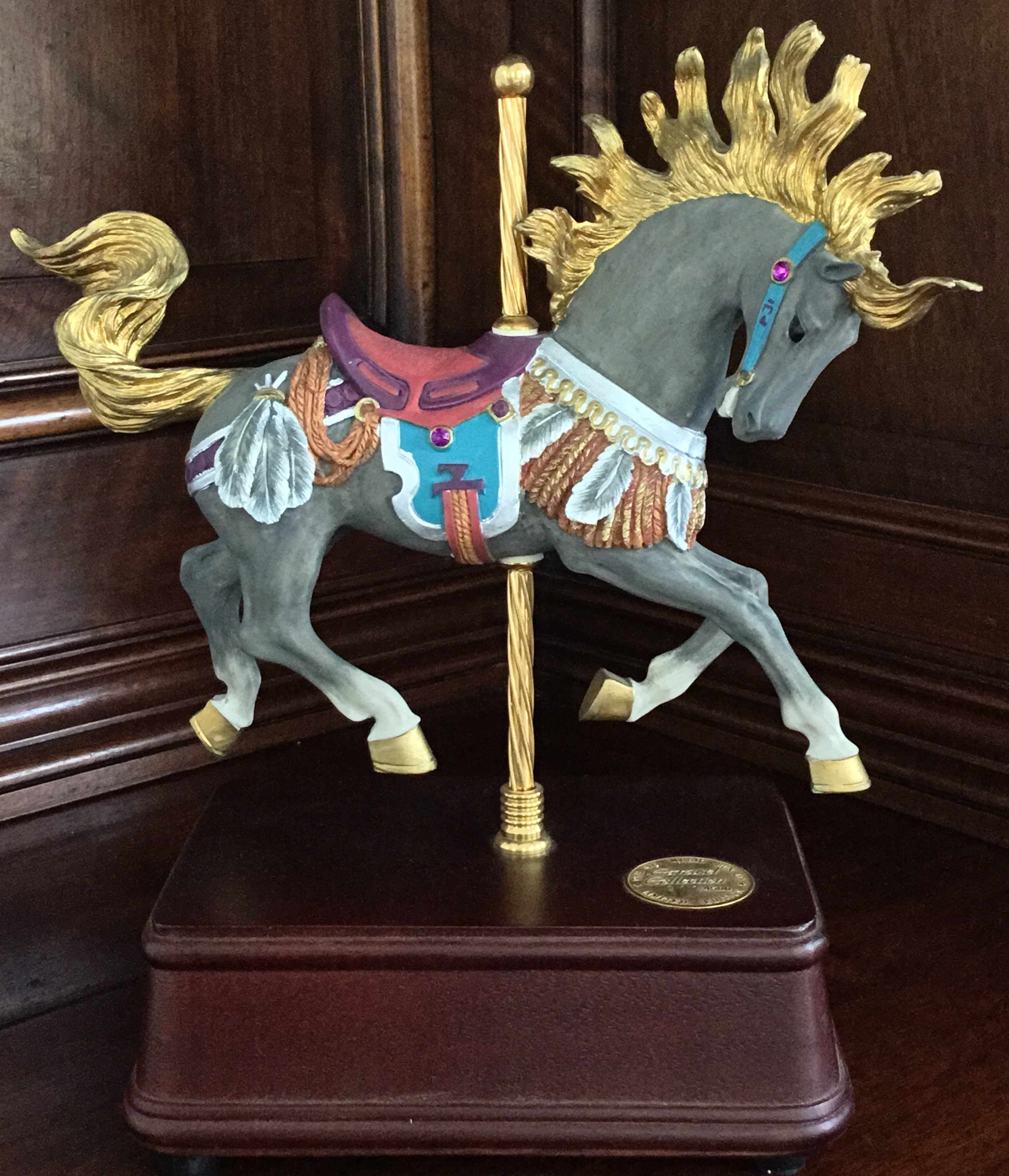 San Francisco Music Box Carousel Horse