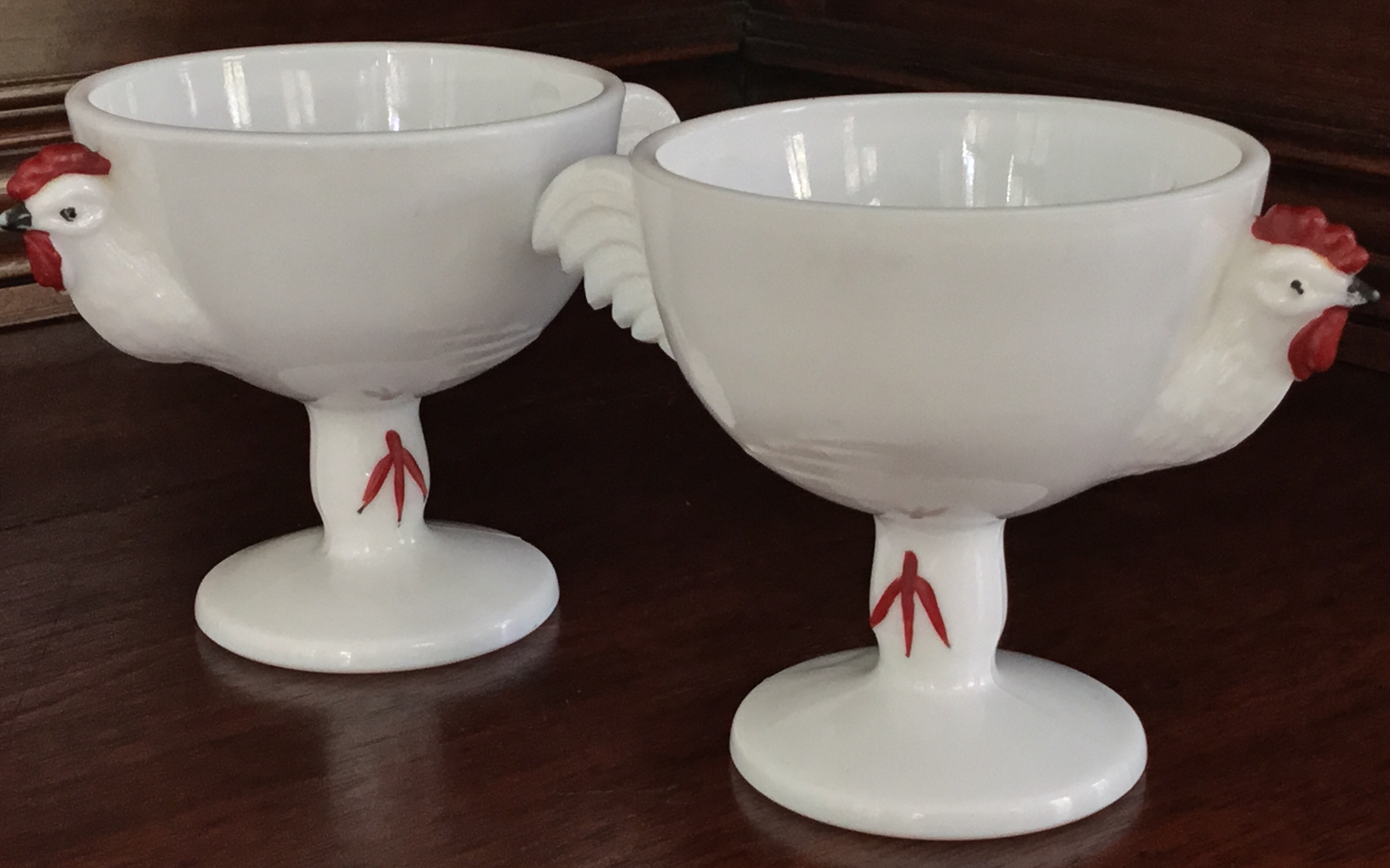 """Rooster"" Egg Cups, Set of 2"