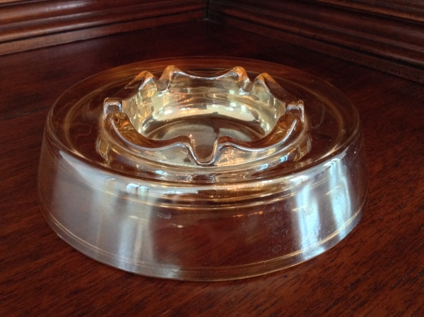 Carnival Glass Ashtray
