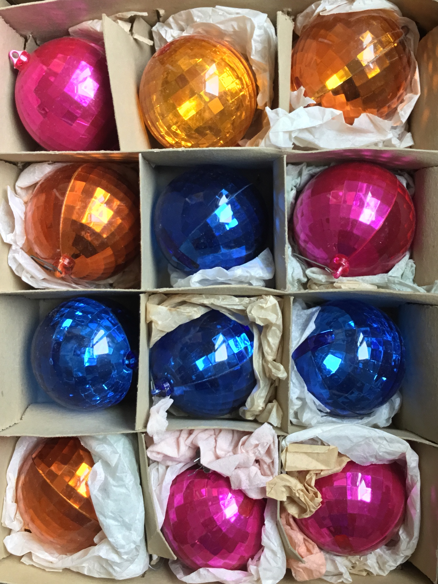 vintage shiny brite ornaments 12 pieces - Vintage Shiny Brite Christmas Ornaments