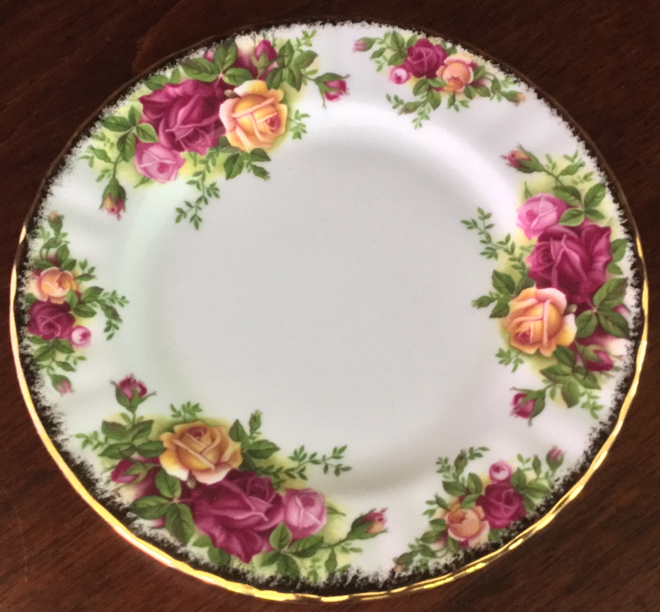 Royal Albert Old Country Roses Bread Plate