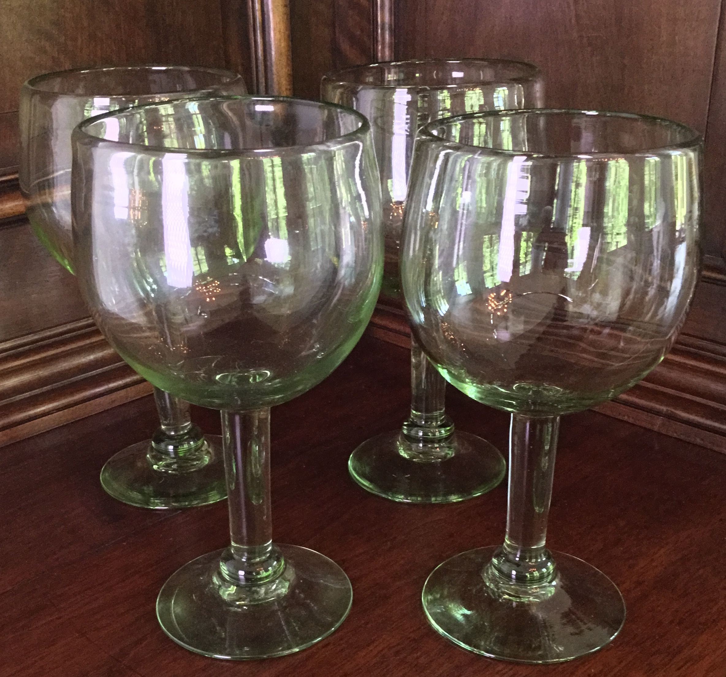 Mouth Blown Glasses, Set of 4