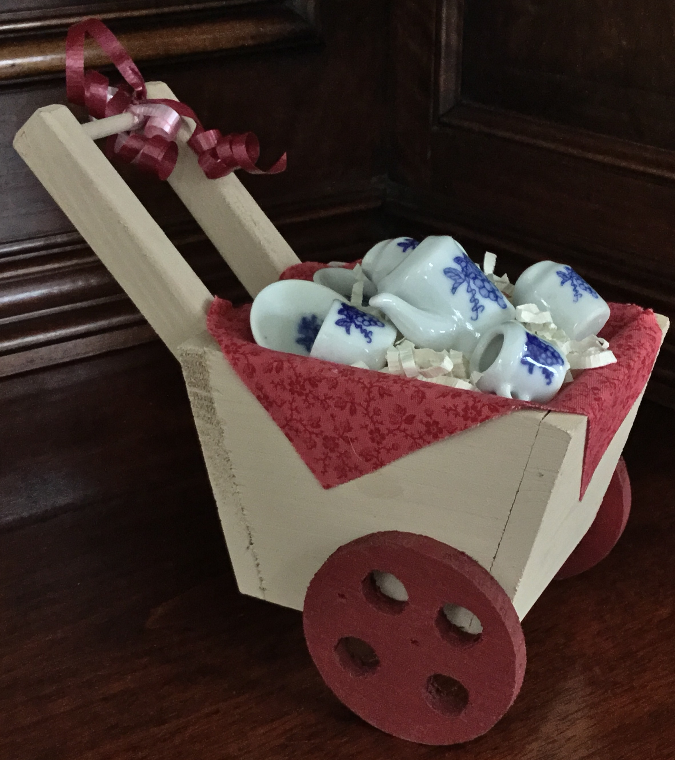 Tea Set Cart