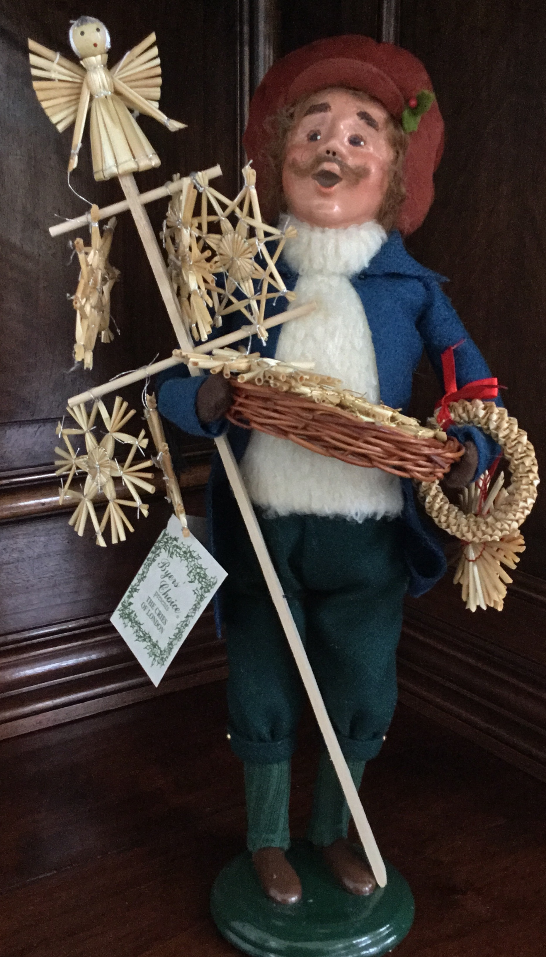 Byers' Choice, Cries of London Straw Toy Vendor
