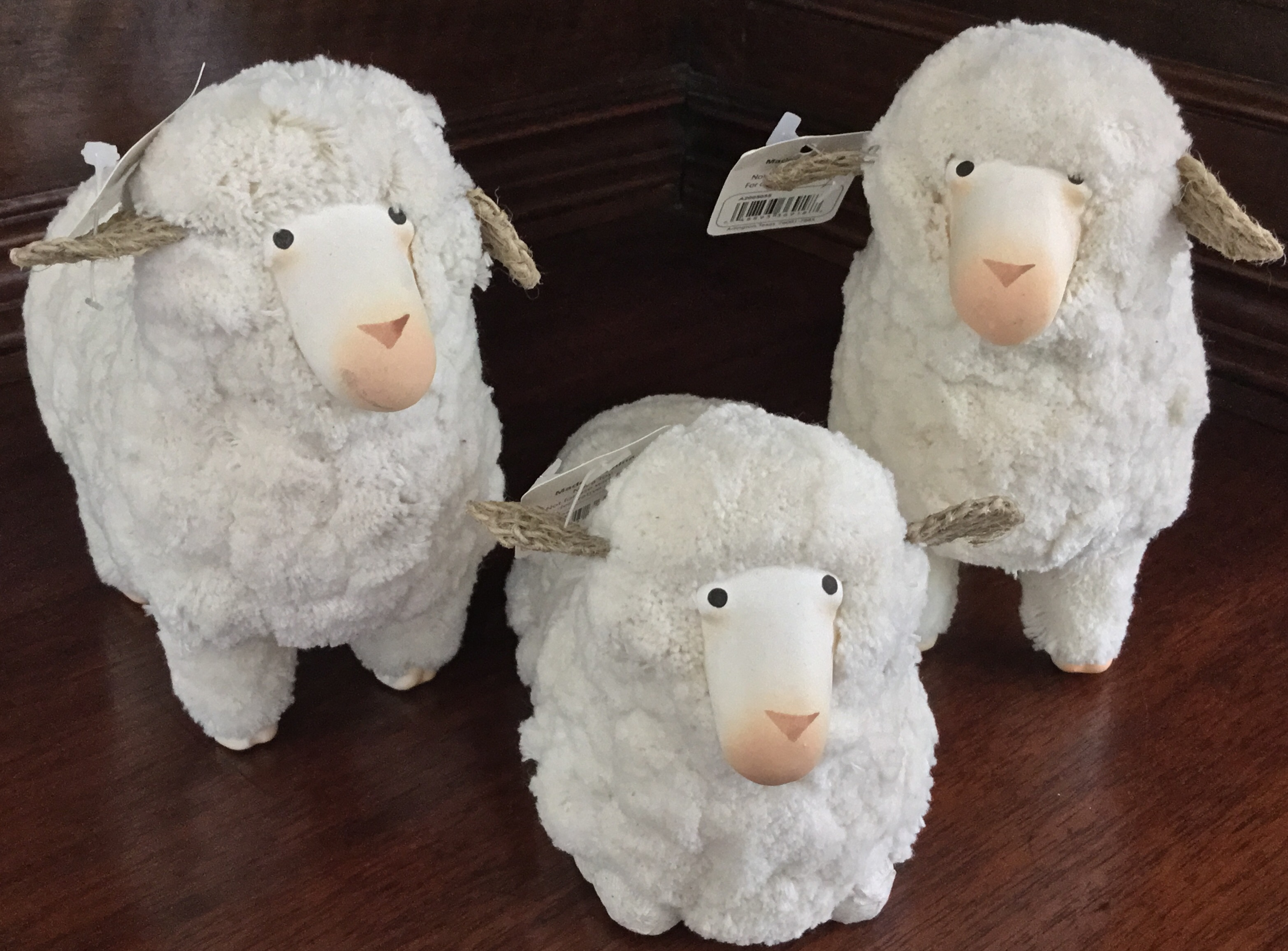 Large Raz Sheep, Set of 3
