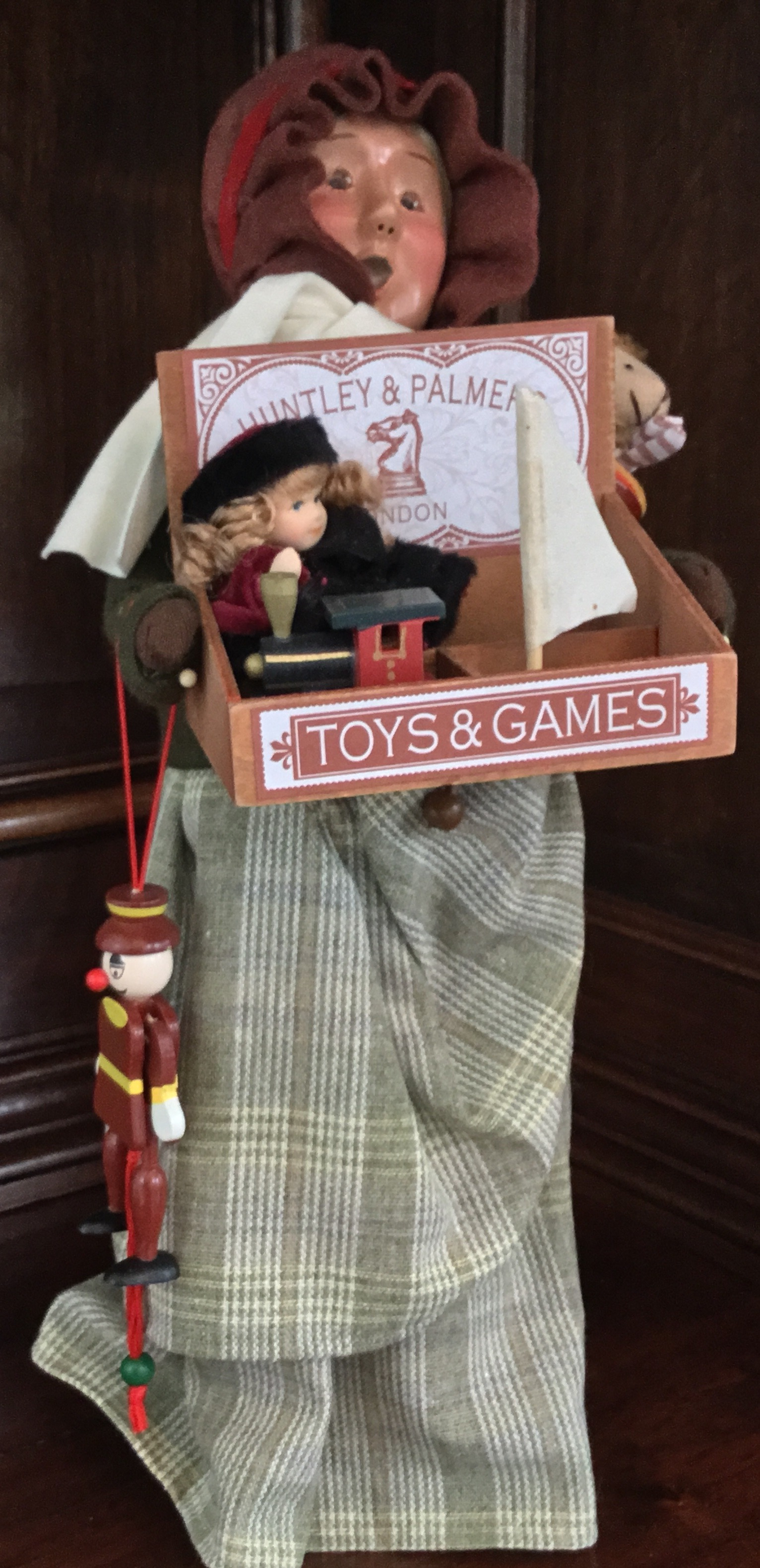 Byers' Choice, Cries of London Toy Vendor Woman