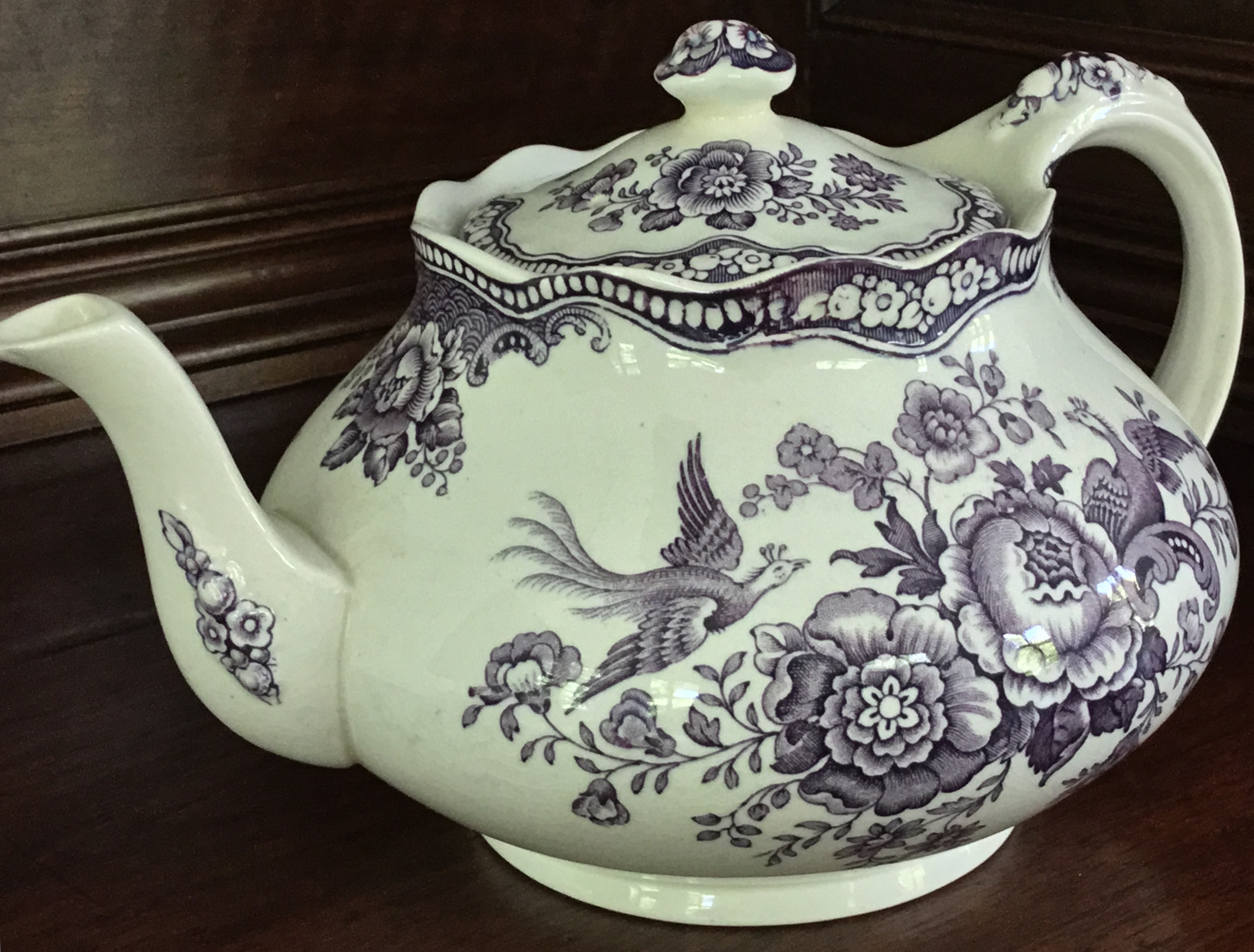 "Crown Ducal ""Bristol"" Teapot"