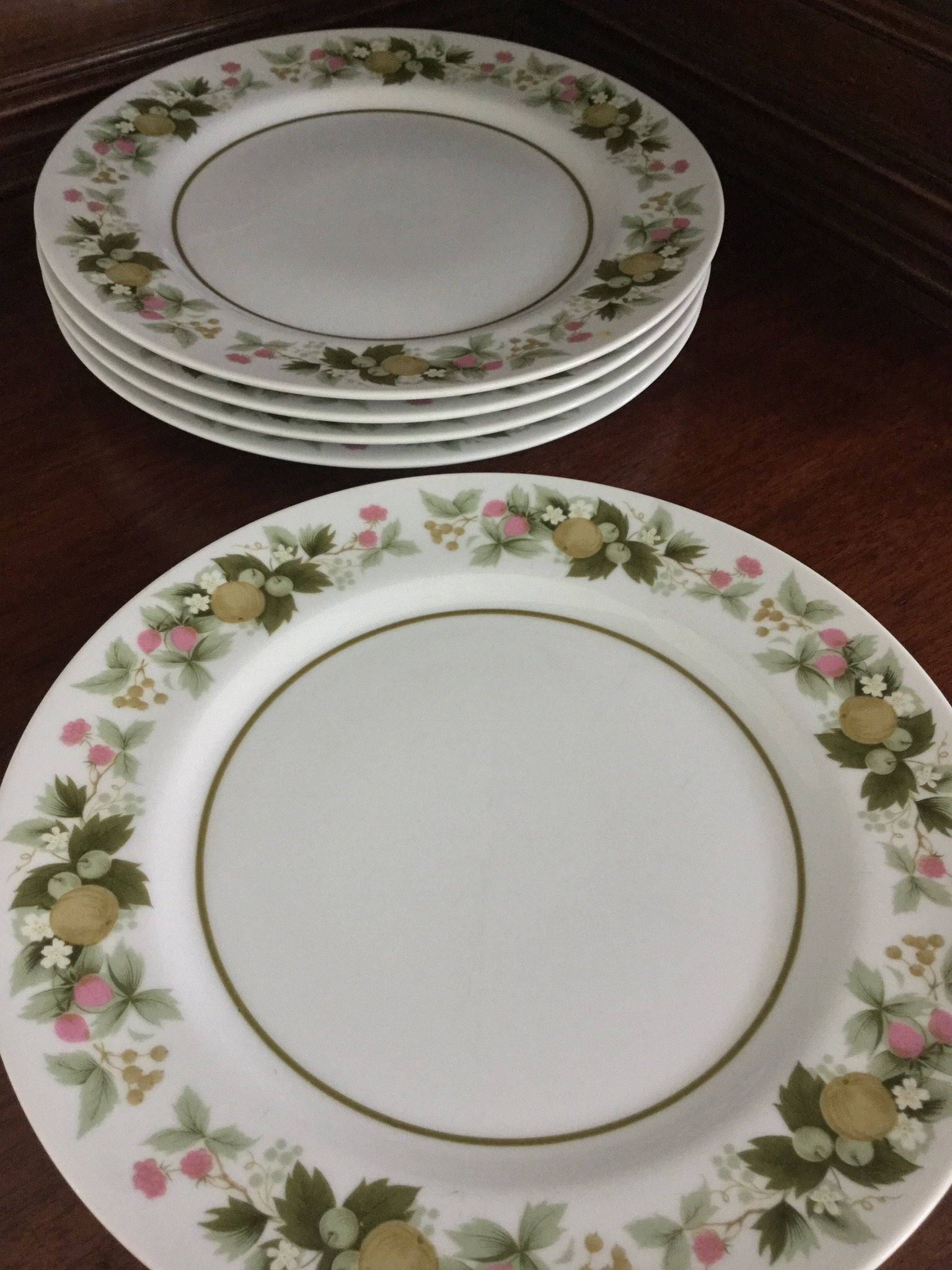 & Mikasa Eclipse Sumay Dinner Plates Set of 5