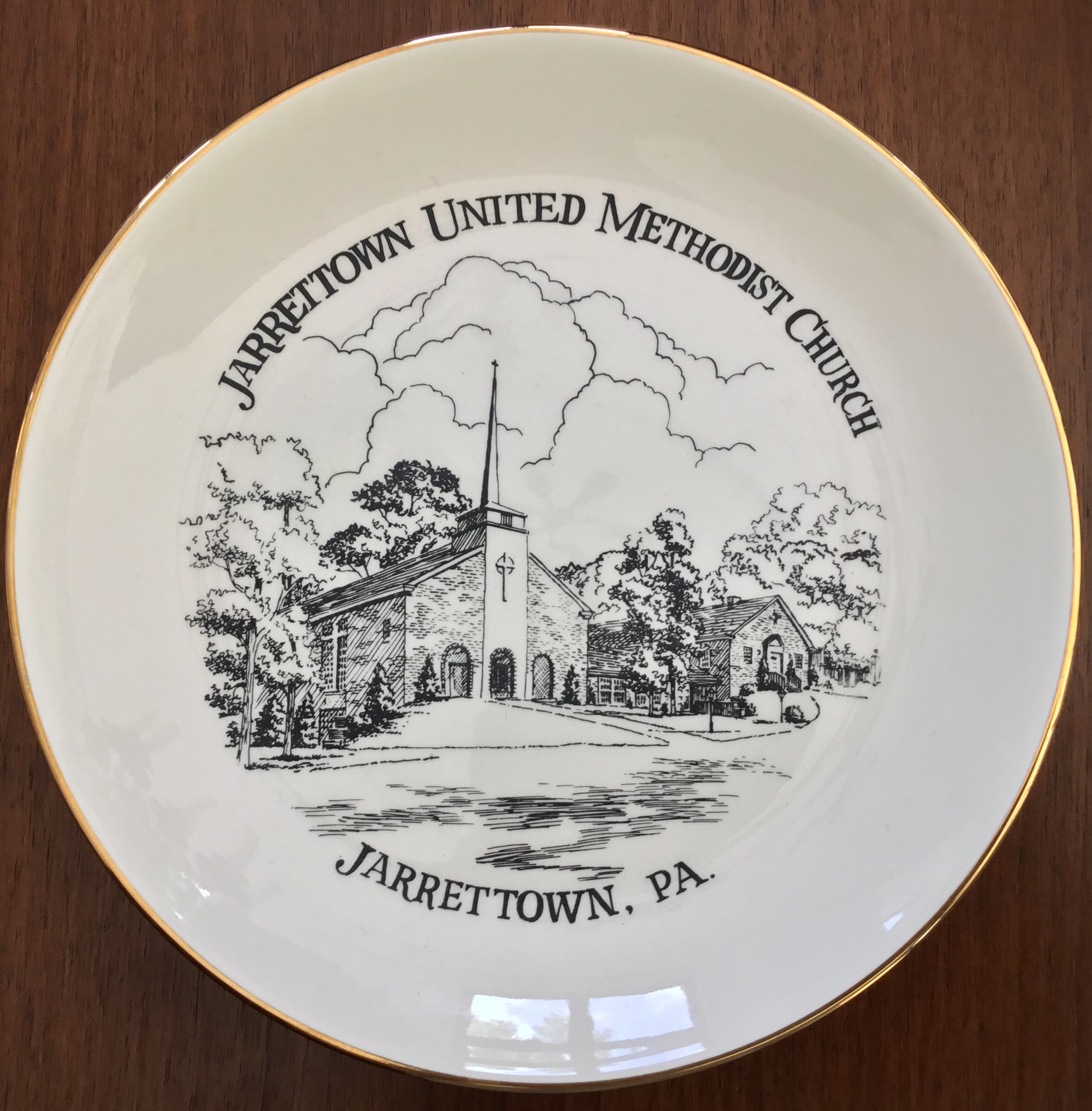 Jarrettown United Methodist Church Plate