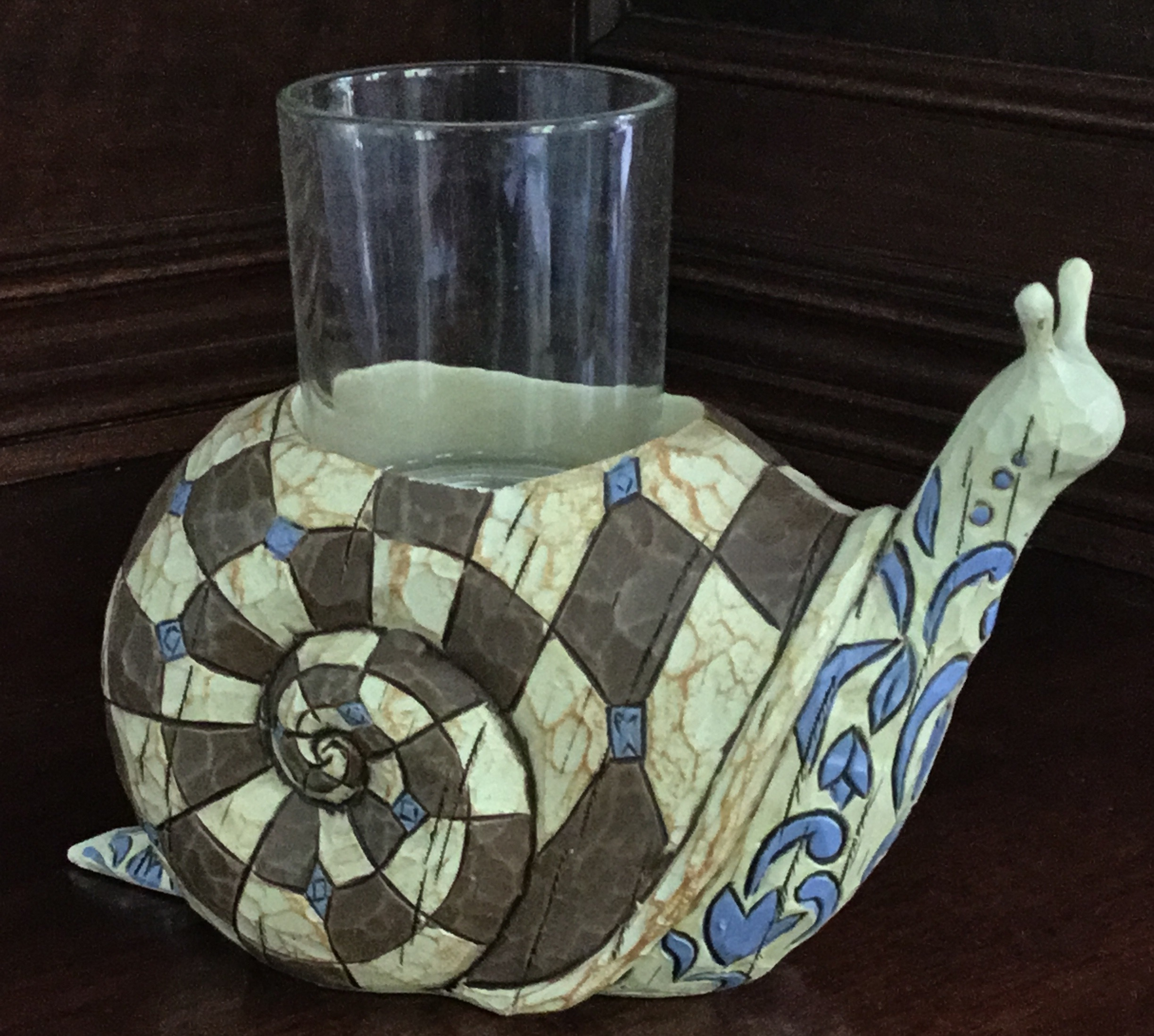 Jim Shore Snail Votive