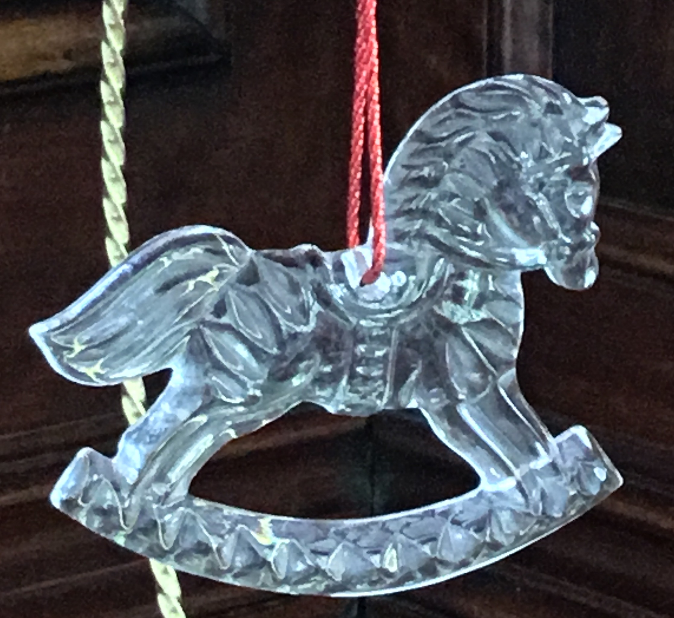 Gorham Rocking Horse Ornament