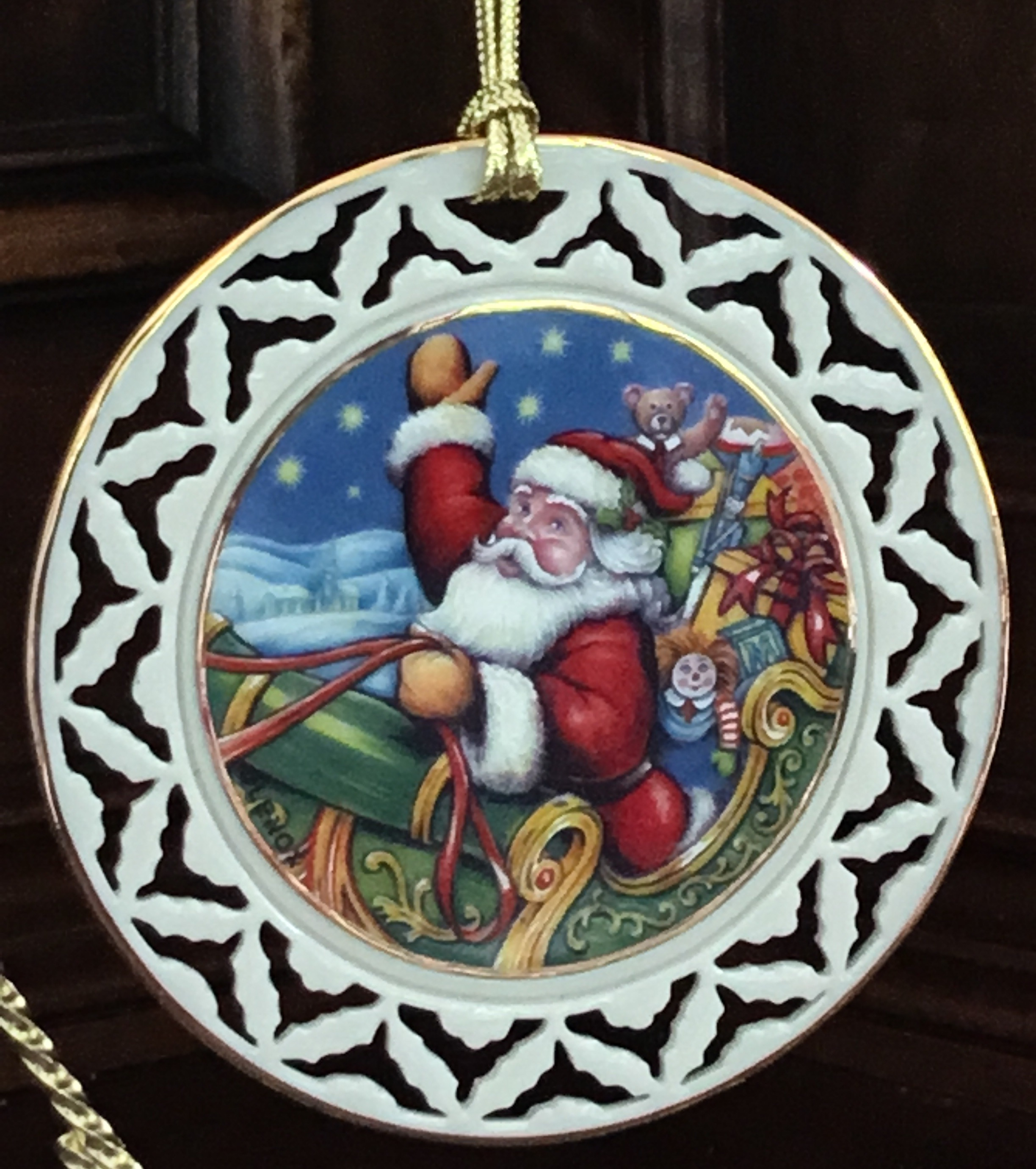 Lenox And To All A Good Night Ornament