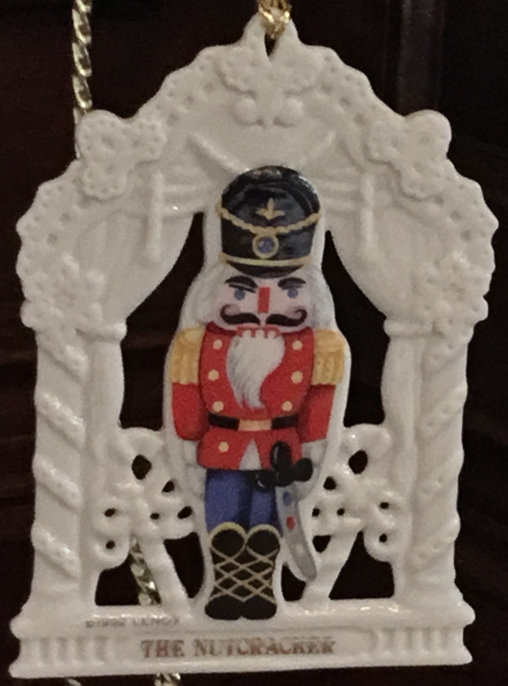 Lenox Nutcracker Ornament