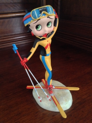 Betty Boop Ski Bunny Collector Figurine