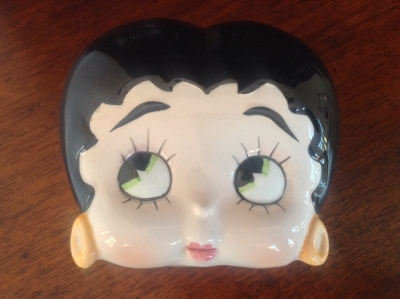 Betty Boop Ceramic Jar