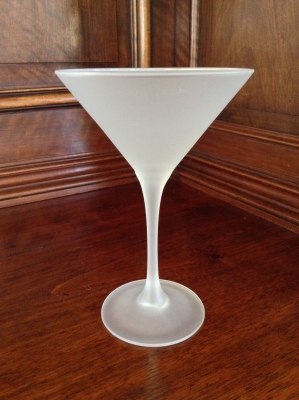 Finlandia Frosted Martini Glass, Set of 12
