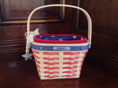 2001 Longaberger Hostess Appreciation Basket