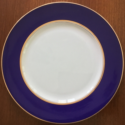 Cathy Hardwick for Mikasa Royal Cobalt Large Serving Plate