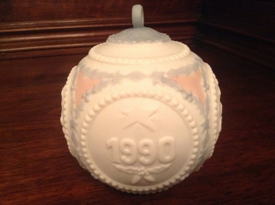 Lladro 1990 Christmas Ball