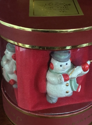 Lenox Mini Snowman Ornaments, Set of 4