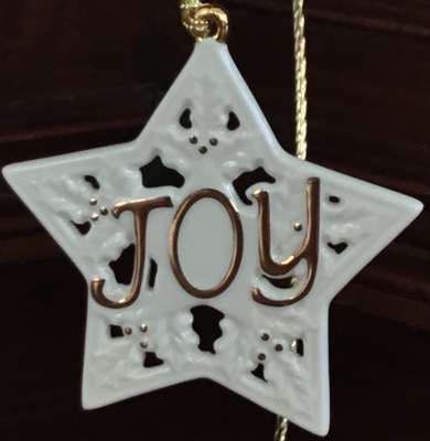 "Lenox ""Joy"" Ornament"