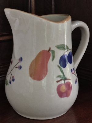 Longaberger Fruit Medley Pitcher