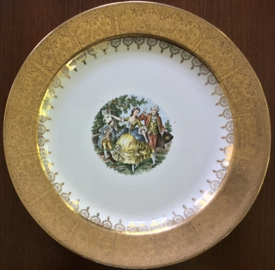 Homer Laughlin 22K Gold Plate